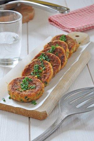Croquettes de purée de carotte