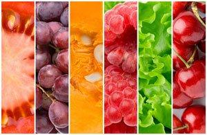Couleurs des fruits et légumes