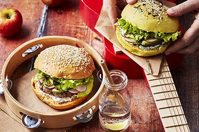 burger-aux-legumes-et-hache-de-veau