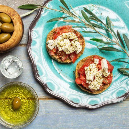 Le régime crétois : sain et gourmand