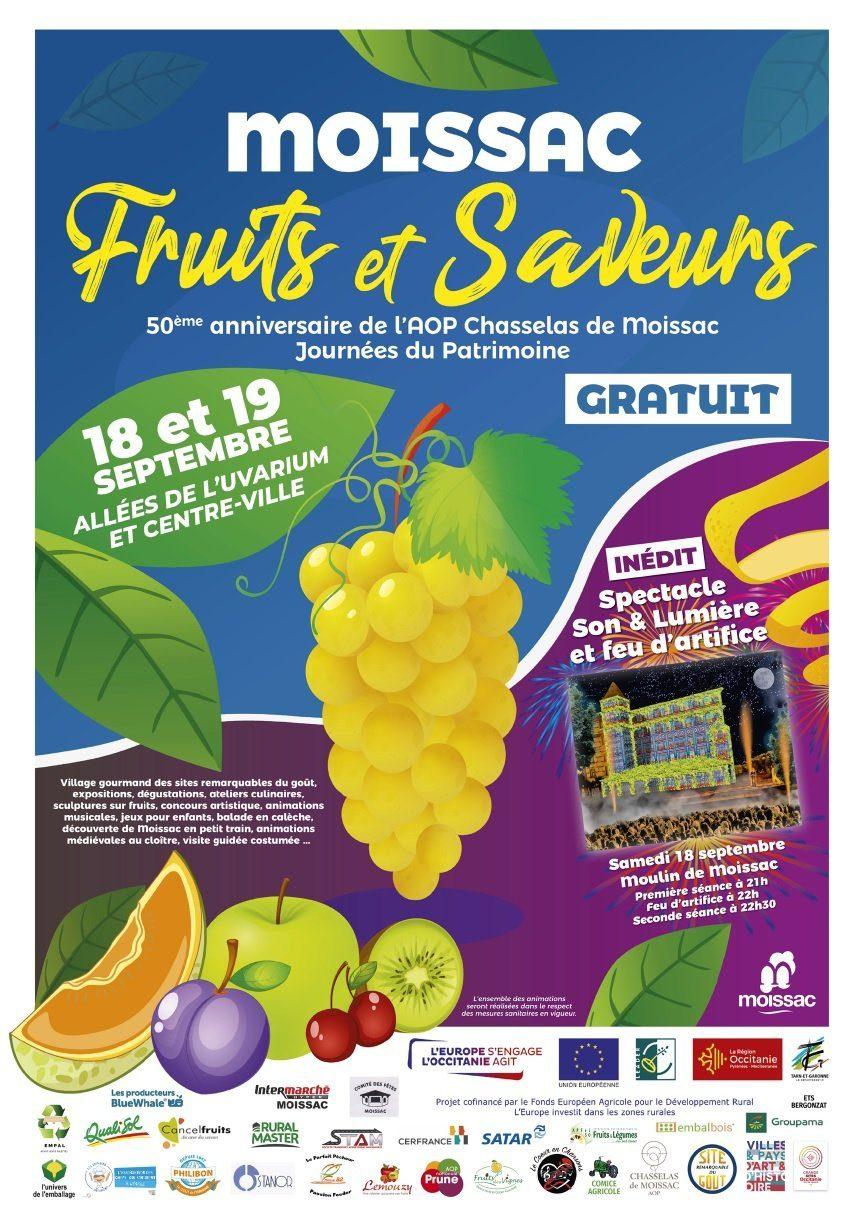 Festival Moissac Fruits et Saveurs