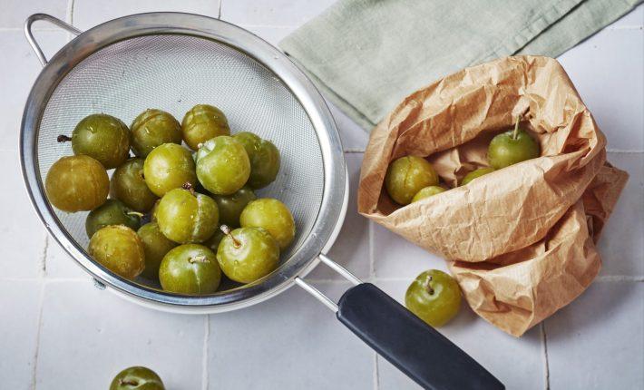Trifle onctueux aux prunes - Etape 1