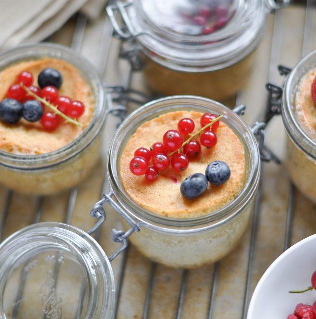 Gâteau aux fruits rouges « à emporter »