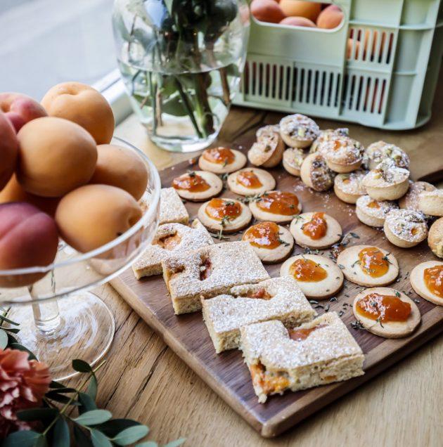 Cake abricots citron amandes