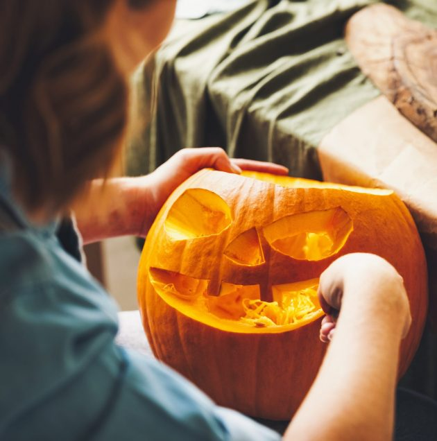 Halloween, courges et potirons